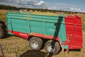 Farmtech Abschiebewagen Fortis